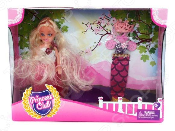 Набор игровой с куклой Shantou Gepai Princess Club «Мой гардероб» KW20913-2 disney princess игровой набор с куклой easy styles ариэль