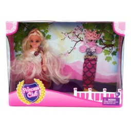 фото Набор игровой с куклой Shantou Gepai Princess Club «Мой гардероб» KW20913-2