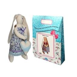 Купить Подарочный набор для изготовления текстильной игрушки Кустарь «Зайка Любава»