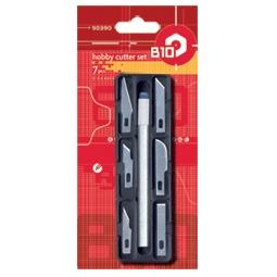 Купить Нож строительный со сменными лезвиями B10 90390