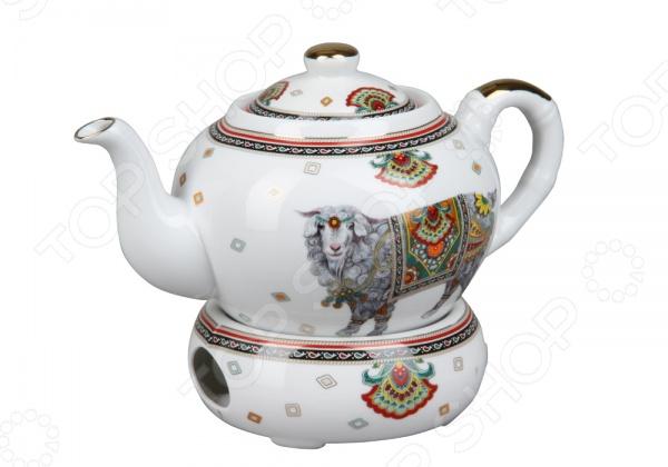 Чайник заварочный с подогревом Rosenberg 8049