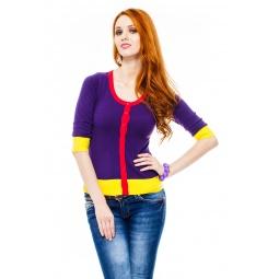 фото Жакет Mondigo 9878. Цвет: фиолетовый. Размер одежды: 44