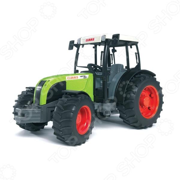 Трактор игрушечный Bruder Claas Nectis 267 F bruder комбайн 02 119 claas lexion 780