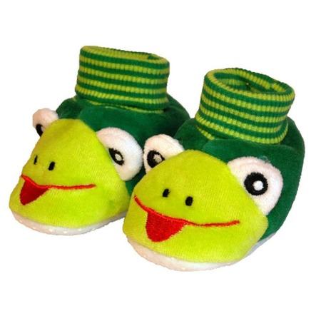 Купить Пинетки HOBBY LINE «Лягушка» ЯВ120858. Цвет: зеленый