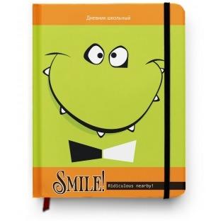 Купить Дневник школьный Проф-Пресс «Смайлик с бантиком»