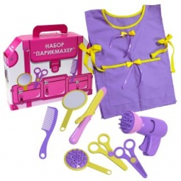 фото Игровой набор для девочки Игрушкин «Парикмахер»