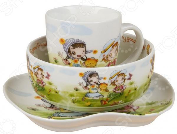 Набор посуды для детей Rosenberg 8778