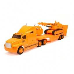 фото Набор машинок игрушечных Soma «Перевозчик и подъемный кран» 79238