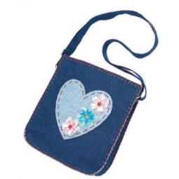 фото Набор для детского творчества Color Puppy «Шьем сумочку. Сердечко»