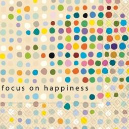 Купить Салфетки бумажные для декупажа Colourful Life «Акцент на счастье»