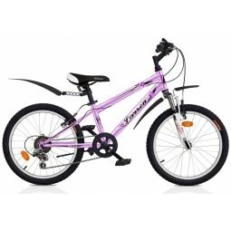 фото Велосипед горный подростковый Larsen Buggy, 2013 года. Цвет: фиолетовый