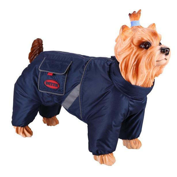 фото Комбинезон-дождевик для собак DEZZIE «Немецкая овчарка». Пол: кобель. Материал подкладки: синтепон