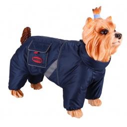 фото Комбинезон-дождевик для собак DEZZIE «Немецкая овчарка». Пол: кобель. Материал подкладки: флис