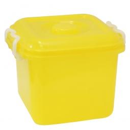 фото Ёмкость для хранения IDEA. Цвет: желтый. Объем: 8 л