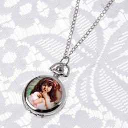 Купить Кулон-часы Mitya Veselkov «Портрет девочки с лентой»