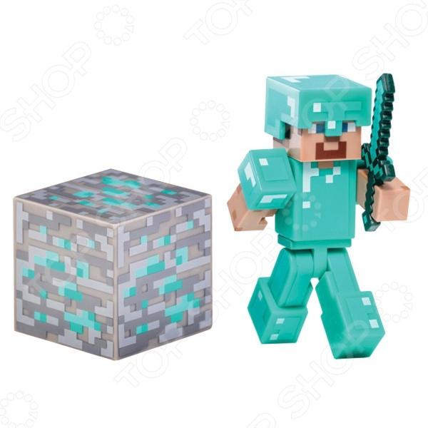 Игрушка-фигурка Minecraft Стив mattel games фигурка персонажей minecraft