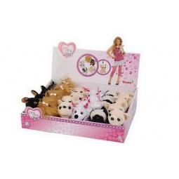фото Брелок-мягкая игрушка Simba «Плюшевая собачка». В ассортименте