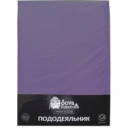 фото Пододеяльник Сова и Жаворонок Premium. Цвет: фиолетовый. Размер пододеяльника: 175х216 см