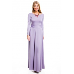 фото Платье Mondigo 7003. Цвет: сиреневый. Размер одежды: 48