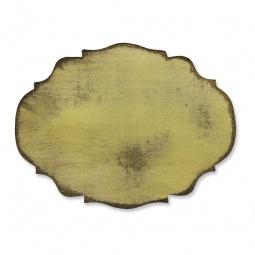 фото Форма для вырубки на магнитной основе Sizzix Movers & Shapers Die Мини-этикетка Барокко