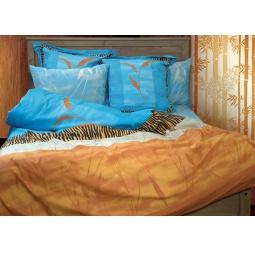 фото Комплект постельного белья из сатина Tete-a-Tete «Целестин». 1,5-спальный