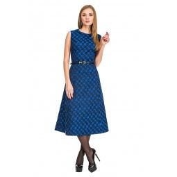 фото Платье Mondigo 5176. Цвет: синий. Размер одежды: 48