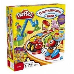 фото Игра увлекательная Play-Doh Пластилиновые гонки