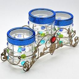фото Набор банок для сыпучих продуктов Mayer&Boch MB-22669