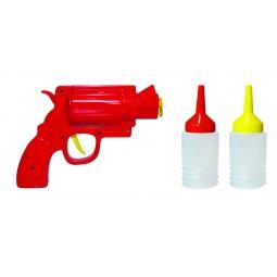 Купить Диспенсер для кетчупа и горчицы Mustard Condiment Gun