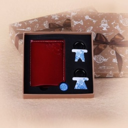 фото Набор подарочный: брелоки и зеркало Феникс-Презент 28468
