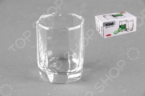Набор стаканов Pasabahce Hisar 42600  набор кружек для пива pasabahce набор стаканов для пива hisar pasabahce 325мл 6 шт