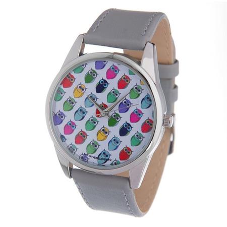 Купить Часы наручные Mitya Veselkov «Много сов»