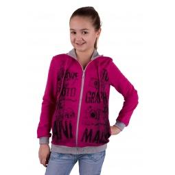 фото Толстовка для девочки Свитанак 8214875. Рост: 122 см. Размер: 32