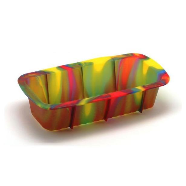 фото Форма для выпечки силиконовая Atlantis «Каравай» SC-BK-005M. Цвет: зеленый