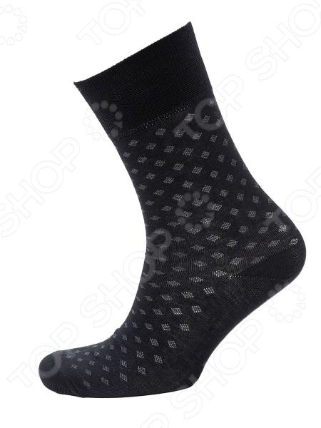Носки мужские Burlesco C124. Цвет: черный