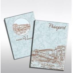 фото Обложка для паспорта Феникс-Презент «Путешествие в Венецию»