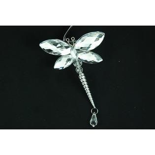 Купить Новогоднее украшение Crystal Deco «Стрекоза» 1707684