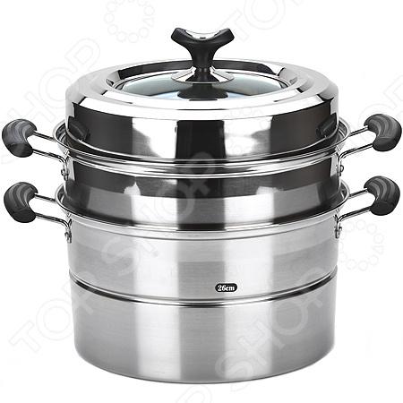 Мантоварка Mayer&amp;amp;Boch MB-21461Мантоварки<br>Мантоварка Mayer Boch MB-21461 посуда, используемая для приготовления мантов, пельменей и вареников на пару. Она выполнена в виде двухъярусной кастрюли, в нижнюю секцию которой заливается вода. Верхняя секция мантоварки выполнена в виде решетки с отверстиями для прохождения пара. Мантоварка станет прекрасным дополнением к набору кухонной утвари. С ее приобретением приготовление ваших любимых блюд перейдет на качественно новый уровень. Кастрюля выполнена из нержавеющей стали и снабжена эргономичными ручками и, плотно закрываемой, крышкой.<br>