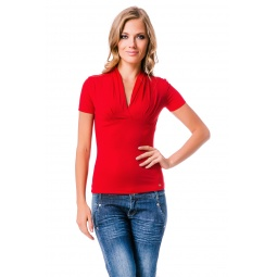 фото Футболка Mondigo 7046. Цвет: красный. Размер одежды: 42