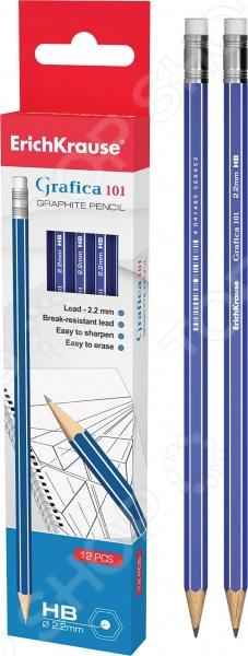 Набор карандашей простых Erich Krause Grafica 101