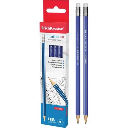 Купить Набор карандашей простых Erich Krause Grafica 101