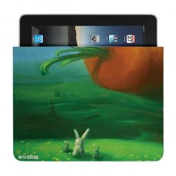 Купить Чехол для iPad Mitya Veselkov «Заяц и морковка»