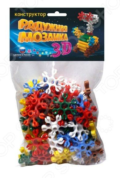 Конструктор для ребенка Биплант «Радужная мозаика 3D»