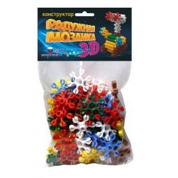 Купить Конструктор для ребенка Биплант «Радужная мозаика 3D»