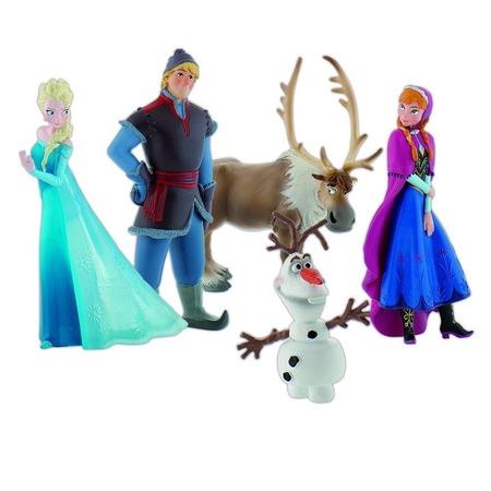 Купить Набор фигурок для девочки Bullyland «Холодное сердце». Количество: 5 предметов