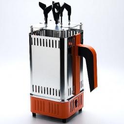 Купить Электрошашлычница Zimber «Ленивый шашлычник»