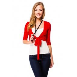 фото Болеро Mondigo 071. Цвет: красный. Размер одежды: 46
