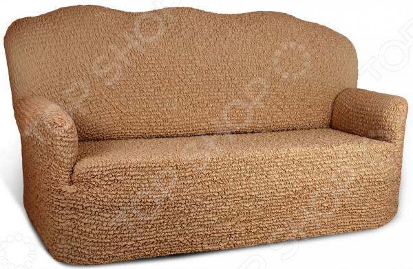 Натяжной чехол на четырехместный диван «Микрофибра. Кофейный»Чехлы на диваны<br>Уют вашей квартиры в первую очередь зависит от мебели. Именно она формирует внешний облик комнаты, влияет на температуру, влажность и особенно на настроение человека. От ее цвета и материала зависит ваше расположение духа. Если вам надоел внешний вид вашего большого старого дивана или он не вписывается в новое оформление интерьера обновите его! Все значительно проще, чем вам может показаться, если вы приобретете натяжной чехол на четырехместный диван Микрофибра. Кофейный . Новая жизнь старого дивана Обновлять интерьер приятно и весело, особенно если это не требует особых усилий и затрат. Хотите иметь возможность менять внешний вид своего дивана в зависимости от сезона, настроения или по случаю праздника Воплотить ваши творческие задумки в жизнь поможет универсальный еврочехол из коллекции Микрофибра , разработанный специально для мягкой мебели.  Обивка на диване со временем все равно утрачивает свой первоначальный внешний вид. Случайное пятно, протертая ткань или деяния домашних питомцев очень быстро приведут мягкую мебель в негодность, из-за которой будет стыдно приглашать в дом гостей. В это случае нужно или покупать новую мебель или менять обивку дивана. Менять обивку самостоятельно трудоемкий процесс, с которым не каждый мастер справляется на 100 . Но, есть третий вариант приобрести натяжные еврочехлы! Возможности использования этой модели впечатляют:  защита от протирания, загрязнения и выгорания ткани;  ткань не позволяет животным точить об нее когти;  новый декор для старой мебели ;  обновление интерьера;  объединение разных кресел и диванов в один ансамбль. Универсальная технология Весь секрет натяжного чехла в его запатентованной технологии bielastico . Ткань изделия пронизана эластичными нитями, позволяя растягивать чехол во все стороны. Еврочехол подойдет для вашего трехместного дивана, вне зависимости от его формы и конфигурации. Чехол можно сравнить с капроновыми колготками,