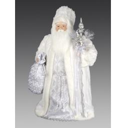 фото Игрушка новогодняя Holiday Classics «Дед Мороз с посохом и мешком»