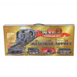 фото Набор железной дороги со светозвуковыми эффектами Zhorya 1700184